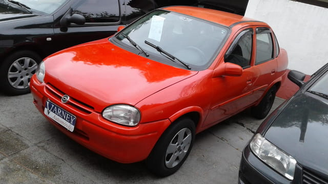 chevrolet corsa sedan super 1.0 mpfi 4p 1999